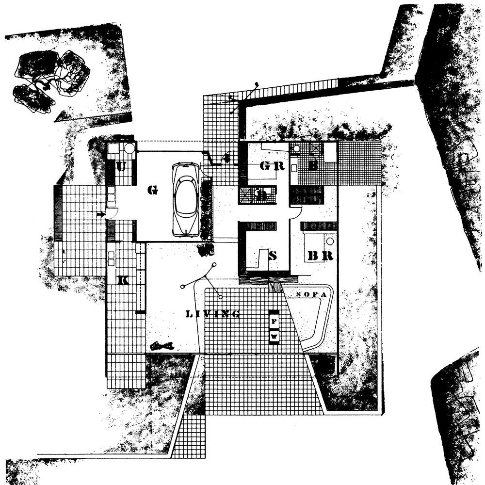 study case house eames