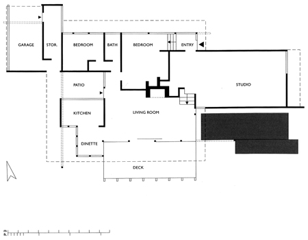 Richard Neutra – Richard Neutra Kaufmann House Floor Plans