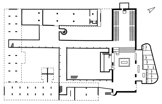 Couvent De La Tourette Eveux Par Le Corbusier Archigraphie