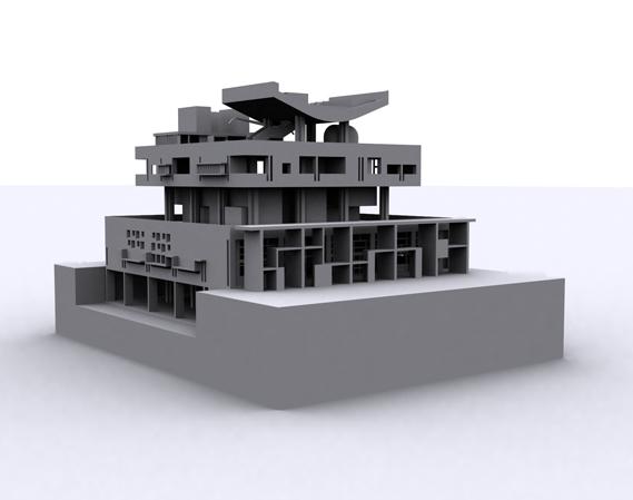 Palais du Gouverneur, Chandigarh par Le Corbusier