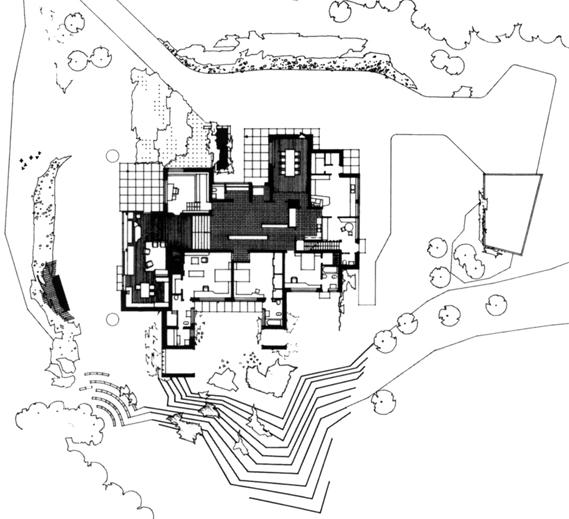 Alvar aalto archigraphie for Plan maison carre