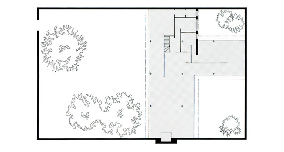 Mies_Van_Der_Rohe_Three court_Courtyard__House_Plan