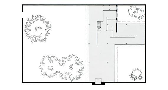 Mies_Van_Der_Rohe_Three court_Courtyard__House_Plan