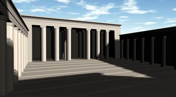 Visite virtuelle du Temple d'Horus à Edfou