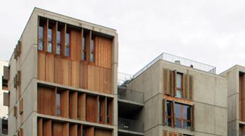 Logements à Lyon Confluence par C.Vergely
